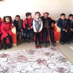 Çocuklar Huzurevini Ziyaret Etti