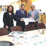 ASP İl Müdürü Ramazan BAYKARA, Kaymakamımız Kaya ÇELİK'i makamında ziyaret etti.