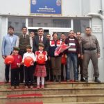 Şehit Astsubay Sedat Mert Cumhuriyet İlkokulu'ndan Örnek Davranış.