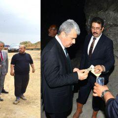 Valimiz İbrahim AKIN, İlçemiz Köylerini Ziyaret Etti