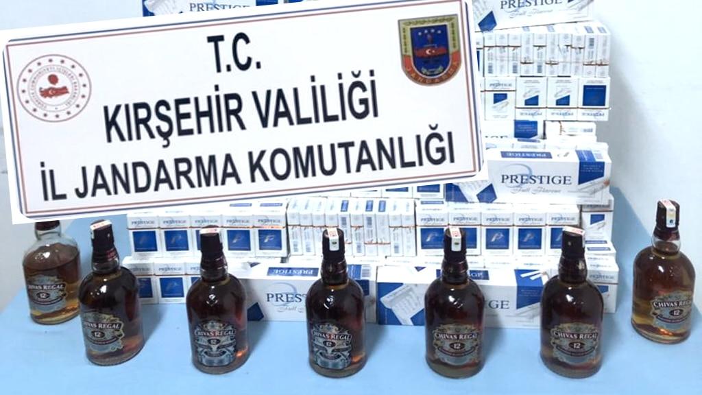 Kırşehir Jandarma Ekipleri Yine Mucur'daki Kaçakçılığa 'DUR' Dedi