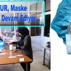Mucur, Maske Üretimine Devam Ediyor…