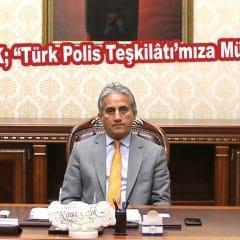 """Kaya ÇELİK; """"Türk Polis Teşkilâtı'mıza Müteşekkiriz"""""""