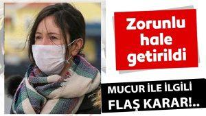 Mucur'da Maske Takmak Artık Zorunlu!