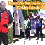 İlçemiz'in Gururu Savaş ARSLAN Türkiye İkincisi Oldu…