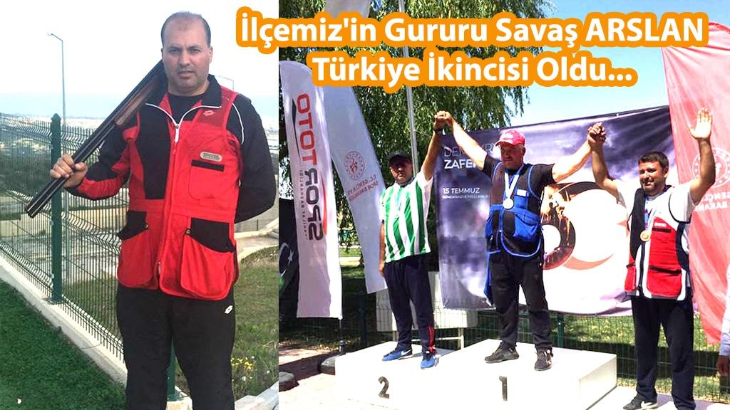 İlçemiz'in Gururu Savaş ARSLAN Türkiye İkincisi Oldu...