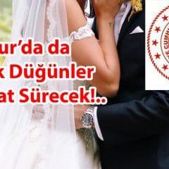 Mucur'da da Artık Düğünler 3 Saat Sürecek!..