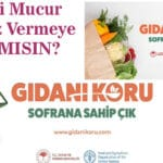 Gıdanı Koru Kampanyası Destek Bekliyor