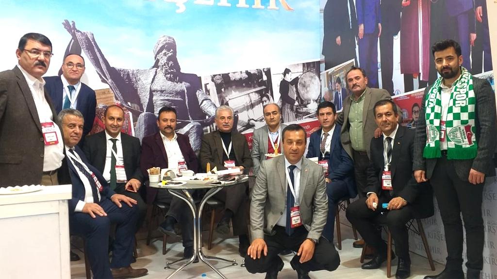 Kooperatafçiler Fuarında, Kırşehir Rüzgarı Esti