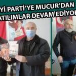 İYİ Partiye Mucur'dan Katılımlar Devam Ediyor.