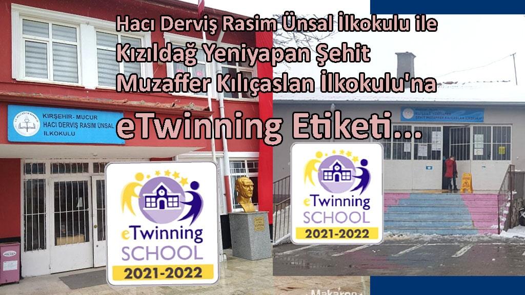 Mucur'da İki İlkokul eTwinning School Etiketi Almaya Hak Kazandı