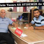 Gazetemizin Yazarı Ali AYDEMİR ile Röportaj Gerçekleştirdik.