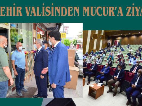 Kırşehir Valisinden Mucur'a Ziyaret